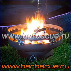 Кострище из металла. Кованый мангал. Купить недорого кострище (чашу для огня)