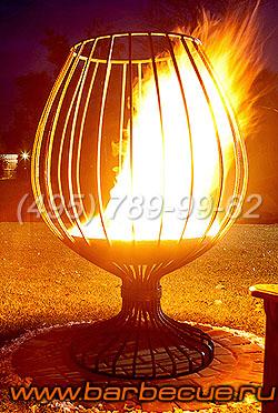 Садовый очаг для огня. Кострище для огня. Купить кованый садовый очаг. Мангал садовый недорого. Костровая чаша для огня - лучший подарок садоводу!