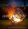 Фото: кованые костровые чаши для огня. Шары для огня из металла. Купить огненные шары недорого.