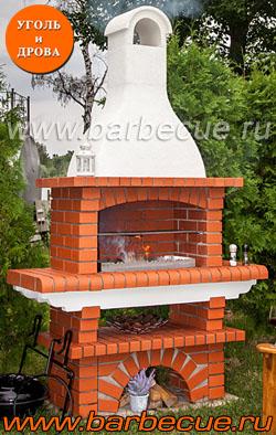 Барбекю из кирпича для беседки купить недорого в Москве у производителя. Продажа барбекю из кирпича с доставкой по России