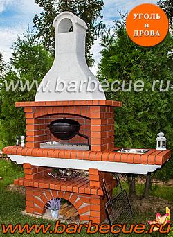 Барбекю из кирпича цены по телефону: (495) 789-99-62. Продажа кирпичных печей и грилей барбекю. Купить в Москве у производителя кирпичное барбекю