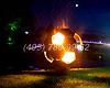 Оригинальный подарок для дачи: огненный футбольный мяч шар. Огненный шар и уличный камин