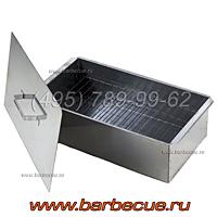 Коптильня горячего копчения (фото), гриль для барбекю, решётки гриль недорого купить в Москве