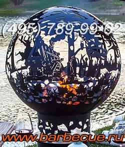 Костровая чаша для дачи (фото). Купить в Москве недорого садовую костровую чашу для огня