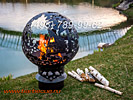 Фото: кованые костровые чаши для огня сделаны в РФ (Россия). Костровые чаши для дачи - подарок дачнику и садоводу. Недорого в Москве по цене производителя